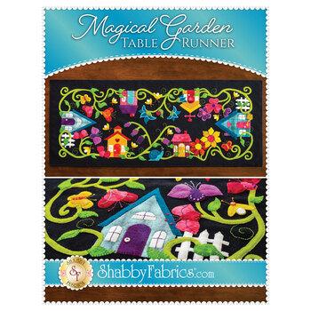 Magical Garden Table Runner - Pattern