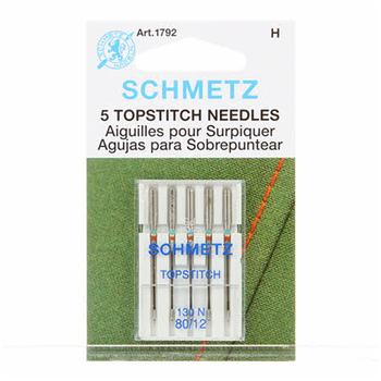 Schmetz Topstitch Needles - Size 80/12 5ct