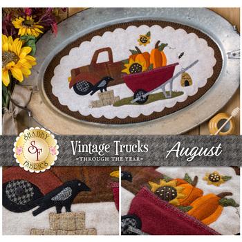 Vintage Trucks - August - Wool Kit