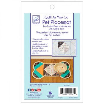 Quilt As You Go Pre-Printed Batting - Pet Placemat - Dog Bone
