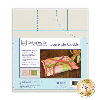 Quilt As You Go Pre-Printed Batting - Casserole Caddy