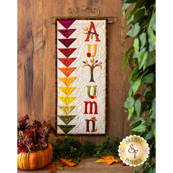 A Year In Words Wall Hangings - Autumn - September - Kit