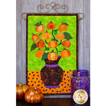 Blooming Series - Pumpkins - October - Pattern