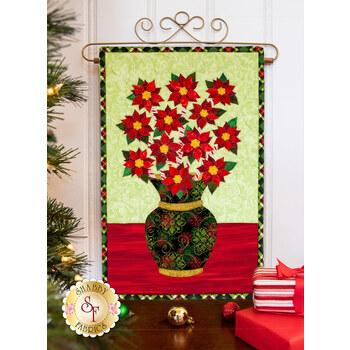 Blooming Series - Poinsettias - December - Pattern