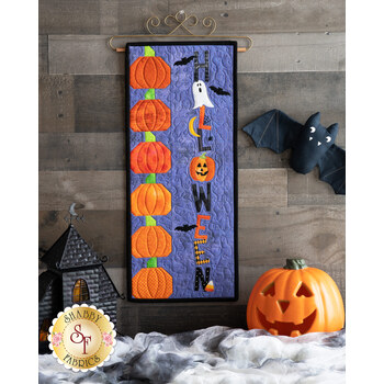 A Year In Words Wall Hangings - Halloween - October - Kit