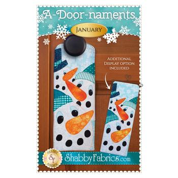 A-door-naments - January - Pattern
