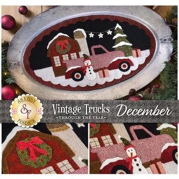 Vintage Trucks - December - Wool Kit