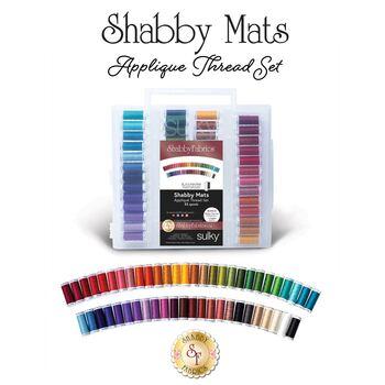 Shabby Mats Club - 52 pc Appliqué Thread Set