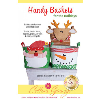 Handy Baskets for the Holidays Pattern