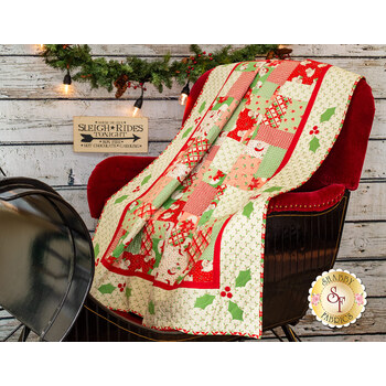 Retro Christmas Quilt Kit