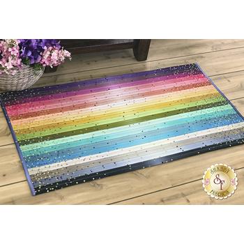 Jelly Roll Rug 2 Kit - Ombre Confetti Metallic