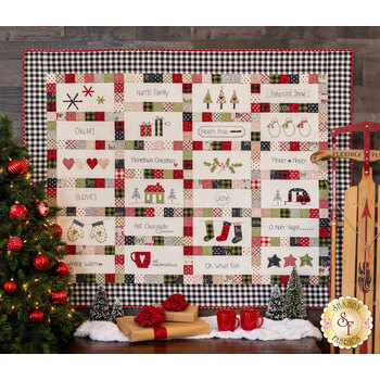 Hometown Christmas Quilt Pattern