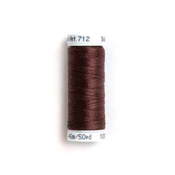 Sulky 12 wt Cotton Petites Thread #1186 Sable Brown - 50 yds