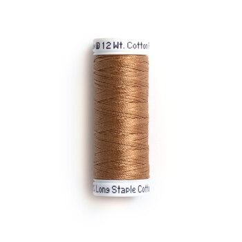 Sulky 12 wt Cotton Petites Thread #0521 Nutmeg - 50 yds