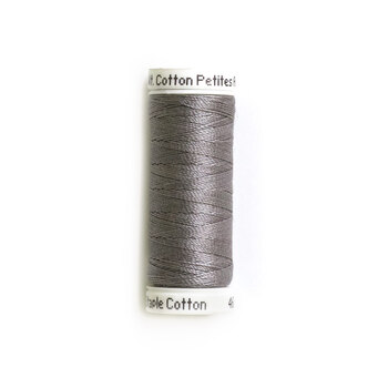 Sulky 12 wt Cotton Petites Thread #1295 Sterling - 50 yds