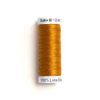 Sulky 12 wt Cotton Petites Thread #1826 Galley Gold - 50 yds
