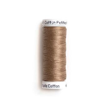 Sulky 12 wt Cotton Petites Thread #1838 Cocoa Cream - 50 yds