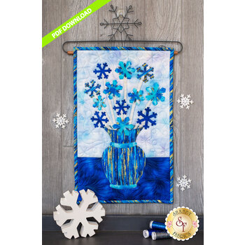 Blooming Series - Snowflakes - January - PDF Download