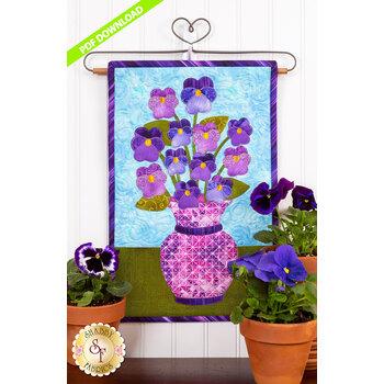 Blooming Series - Pansies - May - PDF Download