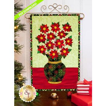 Blooming Series - Poinsettias - December - PDF Download