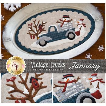 Vintage Trucks - January - Wool Kit