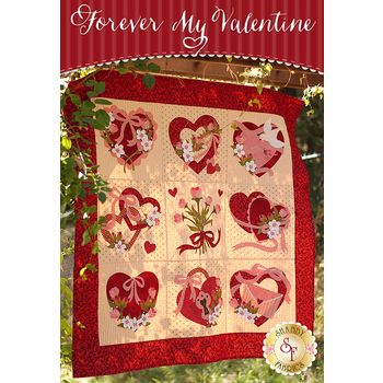 Forever My Valentine Quilt Kit - Laser Cut