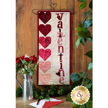 A Year In Words Wall Hangings - Valentine - February - Kit