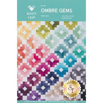 Ombre Gems Quilt Pattern
