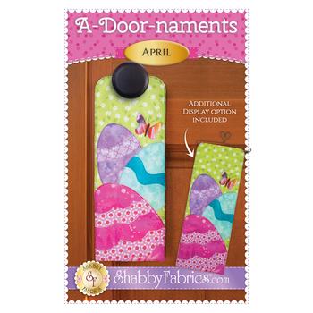 A-door-naments - April - Pattern