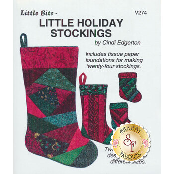 Little Holiday Stockings Pattern