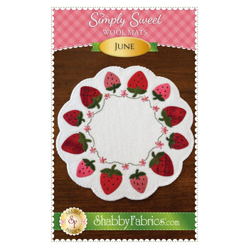 Simply Sweet Mats - June - Pattern