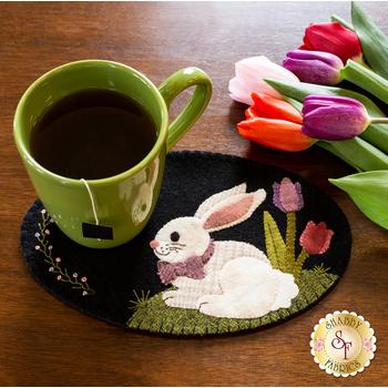Wooly Mug Mat Series - April - Wool Kit