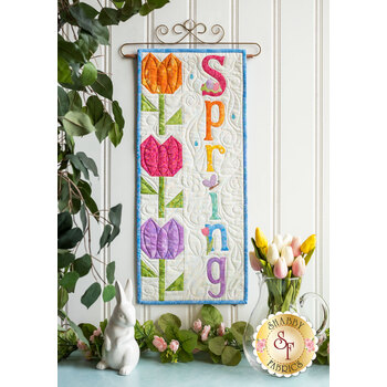 A Year In Words Wall Hangings - Spring - April - Kit