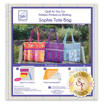 Quilt As You Go Tote Sophie Tote Bag Batting