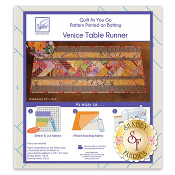 Quilt As You Go Venice Table Runner Batting
