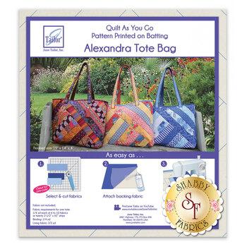 Quilt As You Go Alexandra Tote Bag Batting