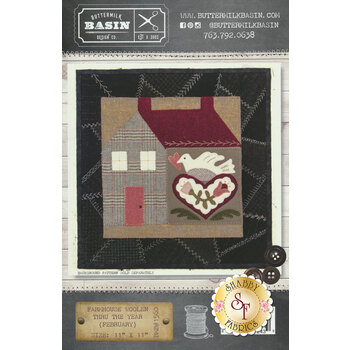 Farmhouse Woolen Thru The Year - February Pattern