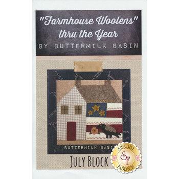 Farmhouse Woolen Thru The Year - July Pattern
