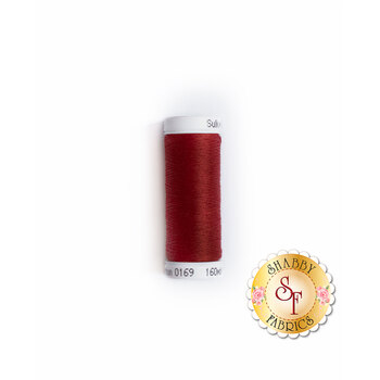 Sulky 50 wt Cotton Thread #0169 Cabernet Red - 160 yds