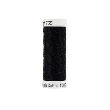 Sulky 50 wt Cotton Thread #1005 Black - 160 yds