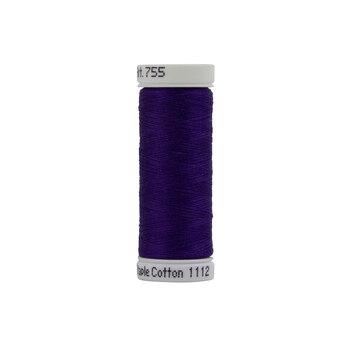 Sulky 50 wt Cotton Thread #1112 Royal Purple - 160 yds