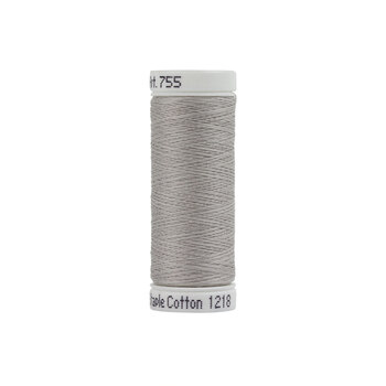 Sulky 50 wt Cotton Thread #1218 Silver Gray - 160 yds