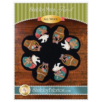 Shabby Mats - April - Pattern