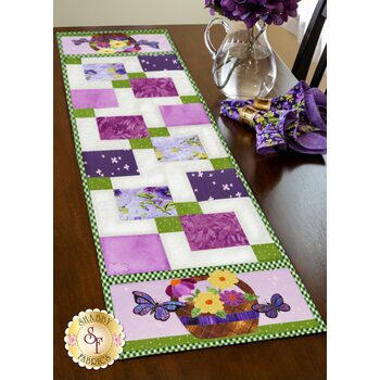 Easy Pieced Table Runner Series - May - Kit