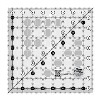 "Creative Grids - 8½"" Square Ruler #CGR8"
