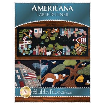 Americana Table Runner Pattern