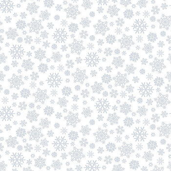 Quilter's Flour II 1887-01W Snowflakes by Henry Glass Fabrics