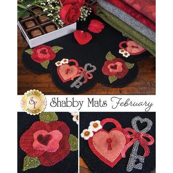 Shabby Mats - February - Wool Kit