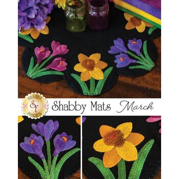 Shabby Mats - March - Wool Kit