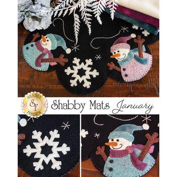 Shabby Mats - January - Wool Kit